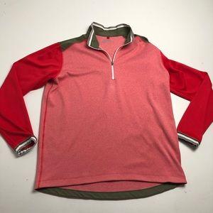 Nike Golf Dri Fit Quarter Zip Sweater Mens Large